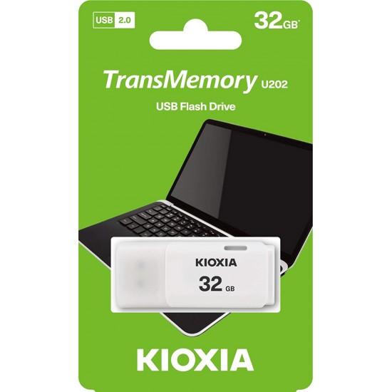 Kioxia 32GB USB2.0 PenDrive White by Toshiba