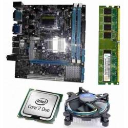 Zebronics 41D2 Motherboard Kit 2.93 Ghz Intel Core2 Duo CPU, 2 GB DDR2 RAM & Processor Fan