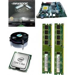 945 mother board + 2.66 core 2 duo + 2 gb ram + fan