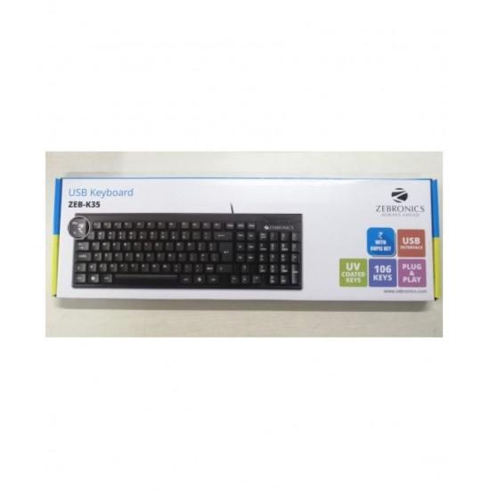 Zebronics K-35 USB Keyboard