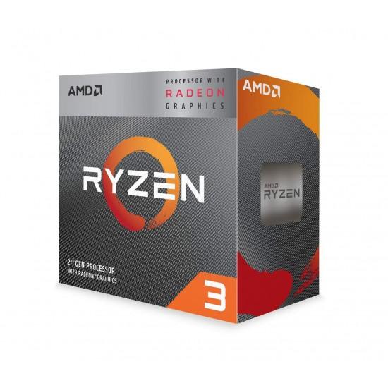 AMD Ryzen 3 3200G with Radeon Vega 8 Graphics Desktop Processor with 6MB Cache AM4 Socket