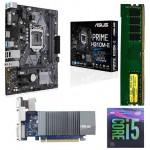 Asus H310M-E + Core I5-9400 F Processor + Ram 8 GB DDR 4+ 2gb Graphic Card Motherboard Combo