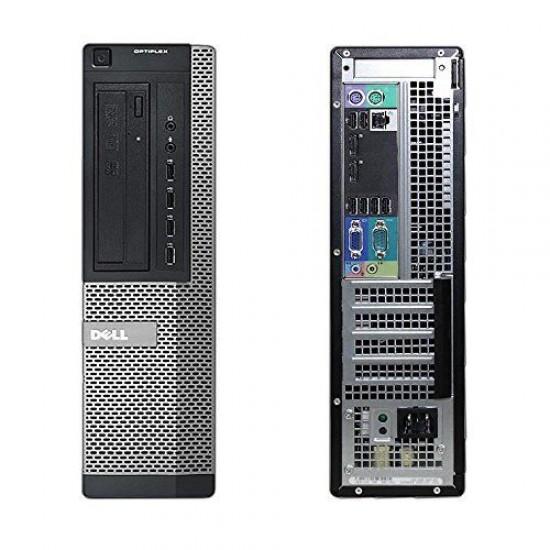 Dell Optiplex Desktop PC - Intel Core i5 (IVth Gen) / 4 GB RAM/ 240 SSD / Wifi
