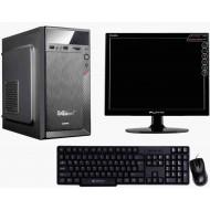 "Core 2 Duo, G 31 Mother Board, 2GB II, 250 GB, 15.1 ""Led, Usb Keyboard & Mouse Assembled Desktop"