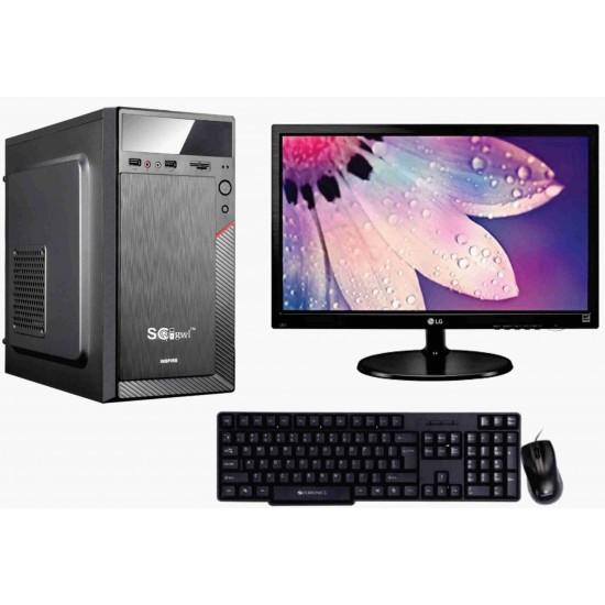Scigwl Desktop Intel Core I5 (IInd) / H 61/ 8 Gb/ 1 Tb Hdd/ Gigabyte Kbd & Mouse / Lg 18.5/ Wifi