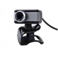 Digital USB 50M Mega Pixel HD Webcam with Stylish Rotate Camera & Mic & Clip for fix on Desktop Computer