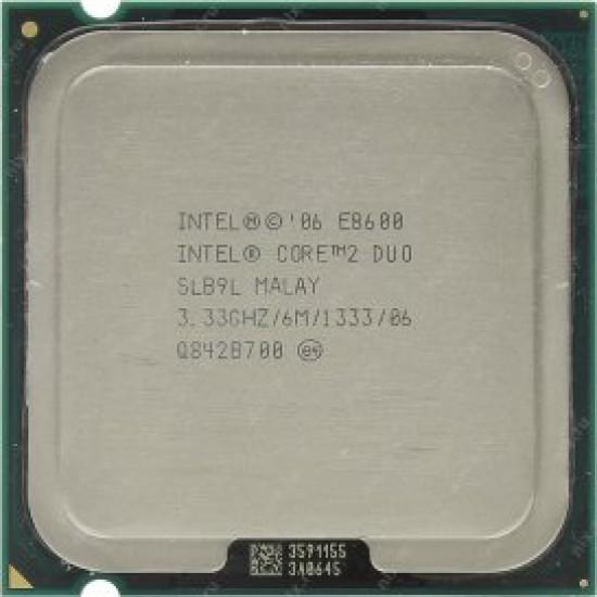 Intel Core 2 Duo E8600 Socket 775 Processor