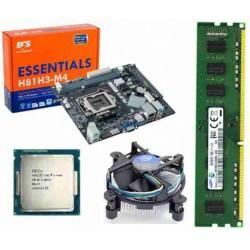 ECS H 81 Mother board + Core I -5 (4th (4460 or Higher) ) + 8 GB DDR3 + Fan