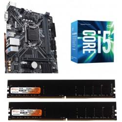 Gigabyte H 310 M-S2 Mother board + Core I 5 (9400) + Ram 8 Gb DDR 4