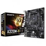Gigabyte GA-A320M-H Ultra Durable Motherboard For AMD Ryzen Processors - AM4 Socket
