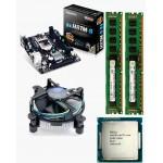 Gigabyte 81 Mother board + Core I -5 (IVth Generation) + 8 GB DDR3 + Fan