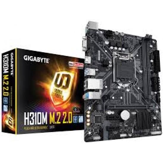 Core I 7 (9700K) Processor / Gigabyte H310 Motherboard/ 8 GB DDR 4 / 1 Tb / 120 M.II Desktop Assembled Desktop