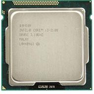 Intel® Core i3-2100 (IInd Generation) or higher Processor Socket 1155 Oem Tray