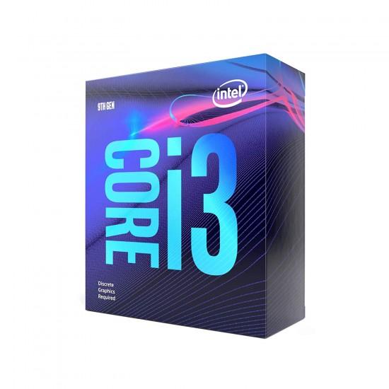 Intel Core i3-9100F 9th Gen Desktop Processor 4 Core Up to 4.2 GHz LGA1151 300 Series 65W Box Pack