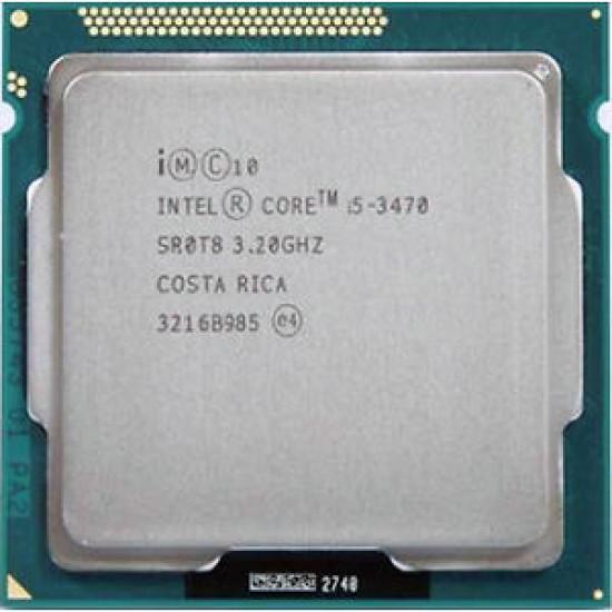 Intel Core i5-3470 - 3.2 Ghz 3rd Gen Desktop processor 1155 Socket
