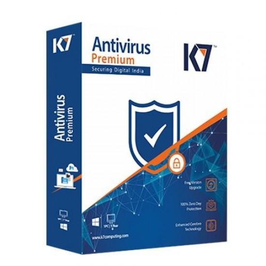 K7 Antivirus Premium 1 PC / 1 Year