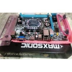 Core I5 (Ist) + H 55 + 8 GB DDR3 RAM + Fan