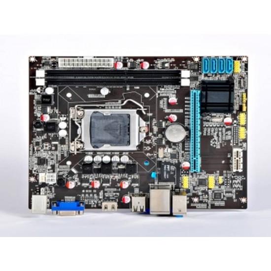 H 61 Mother board + Core I -3 (IInd Generation) + 2 GB DDR3 + Fan