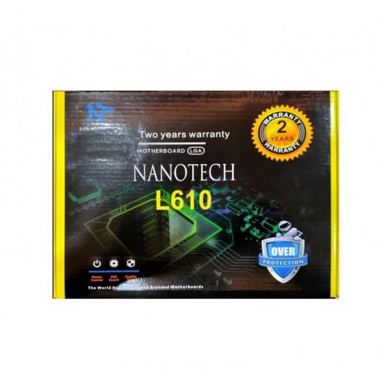 Nanotech H61 (1155) socket Motherboard for 2nd & 3rd Generation i3,i5 and i7 Processor for Desktop