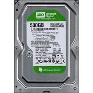 W D 500GB (Green) SATA Hard Drive (WD5000AADS) For (Desktop)