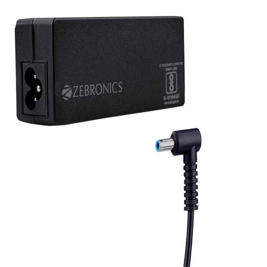Zebronics Zeb-LA453019565H 19.5V/65W Laptop adapter for HP laptop
