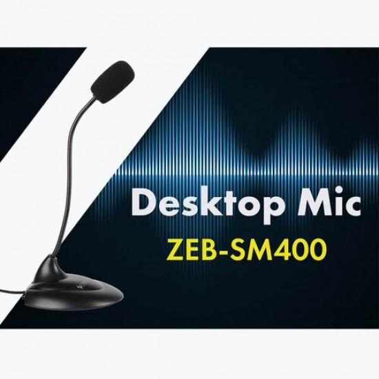 Zebronics ZEB-SM400 Wired Desktop Mic