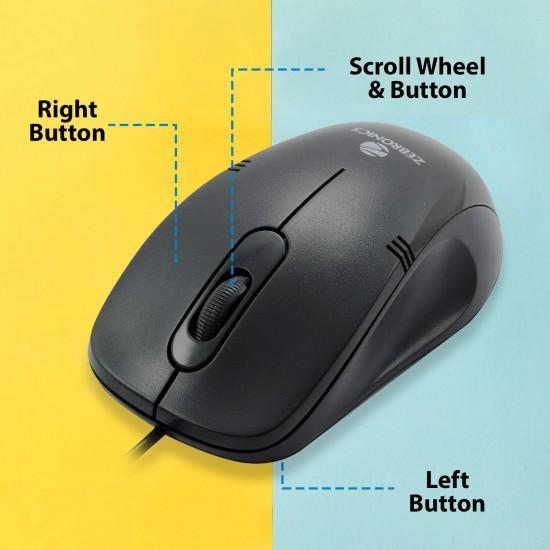 Zebronics Zeb-Power USB Optical Mouse