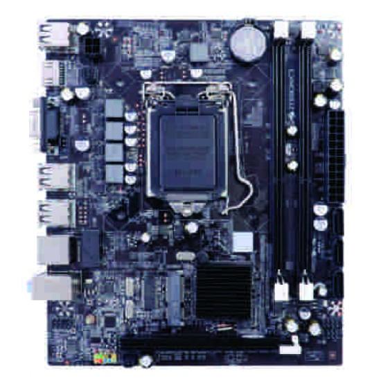 Core I5(Ist)/ Zeb H 55/ 8 Gb Ram/ 1 Tb/ LG 18.5 Led/ Gigabyte keyboard & Mouse / Wifi Assembled Desktop