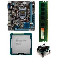 Zebronics 61 Mother board + Core I -5 (IIIrd ) -3470 (3.2 Ghz) Processor + 4 GB DDR3 + Fan