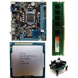 Zebronics 61 Mother board + Core I -5 (IIIrd)-3570 (3.4 Ghz Processor + 4 GB DDR3 + Fan