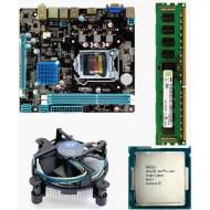 Zebronics 81 Mother board + Core I -5 (IVth Generation) + 4 GB DDR3 + Fan