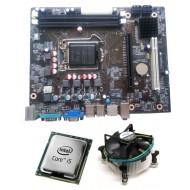Core I5 650 3.2 GHz + Zebronics 55 Intel Chipset Motherboard + Fan