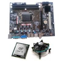 Core I5 (I) + Zebronics H 55 + 4 GB DDR3 RAM +Fan