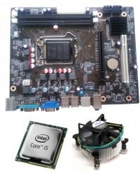 Core I5 650 3.2 GHz + Zebronics 55 Intel Chipset Motherboard + 8 GB DDR3 RAM