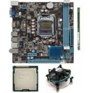 Zebronics 61 Mother board + Core I -3 (IIInd Generation) + 4 GB DDR3 + Fan