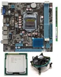 Zebronics 61 Mother board + Core I -5 (IIIrd Generation)- (3470S / 3330 S / 3450 S )+ 8 GB DDR3 + Fan
